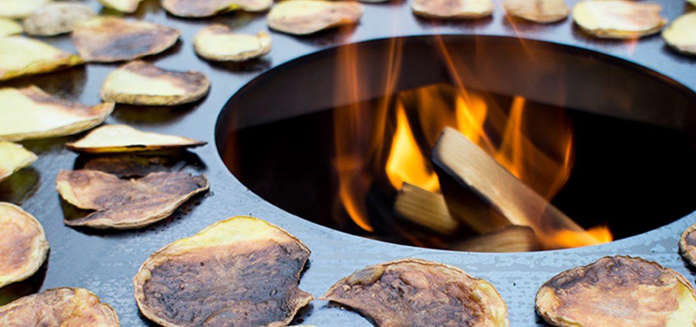 80 cm Feuerplatte von Grillrost.com getestet